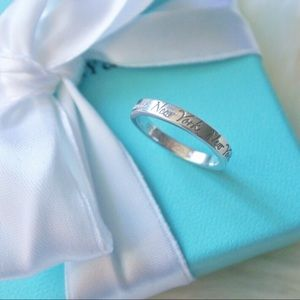 "Tiffany & Co. ""Fifth Avenue"" Ring Size 5.5"